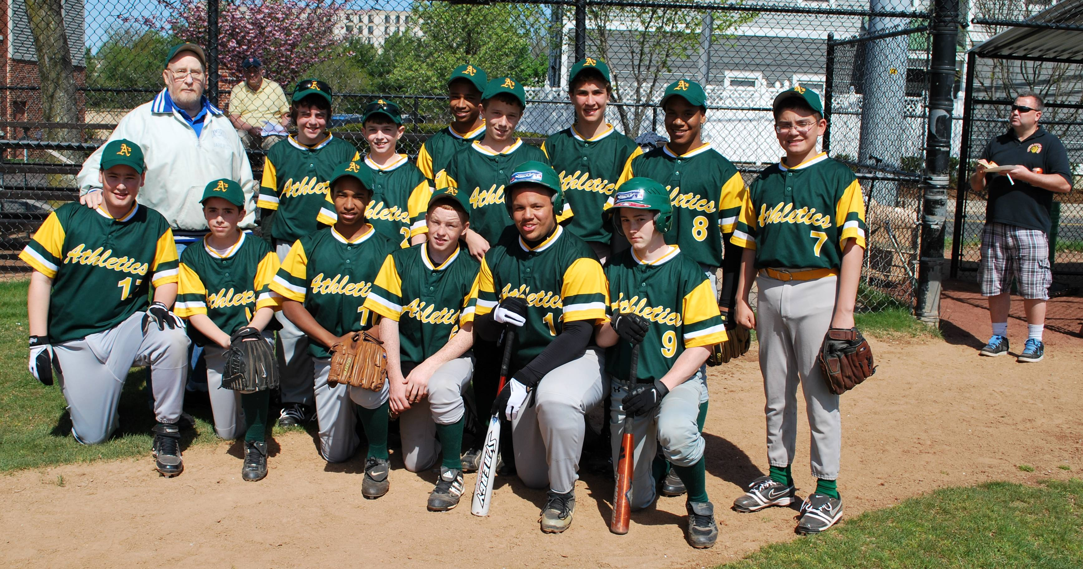 a's team picture